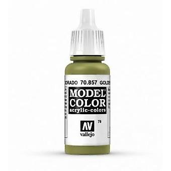 Vallejo Model Color 17ml Acrylic Paint - 857 Golden Olive