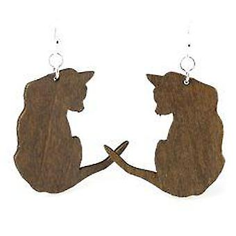Cat Silhouette Earrings # 1092