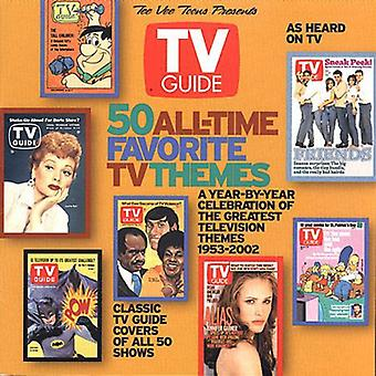 TV Guide 50 All-Time Favorite TV Themes - TV Guide 50 All-Time Favorite TV Themes [CD] USA import