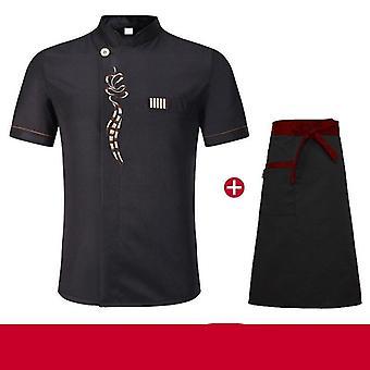 New Unisex Kitchen Chef Baking Cook Wear Chef Clothes