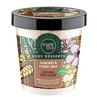 Organic Shop Almond & Honey Milk Reviving Body Scrub