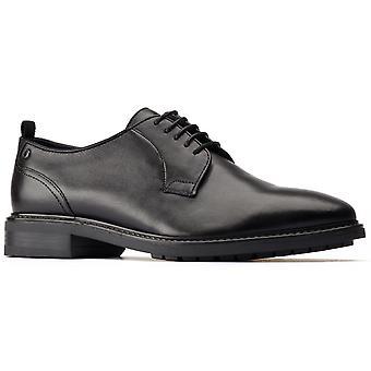 Base london men's boston plain toe derby shoe brown 31208