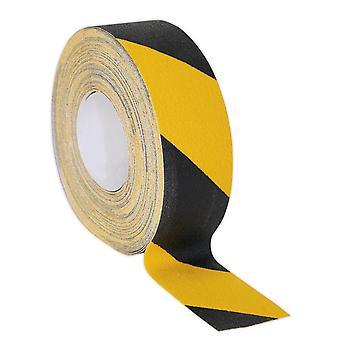 Sealey Antby18 antiscivolo nastro autoadesivo nero giallo 50 Mm X 18Mtr