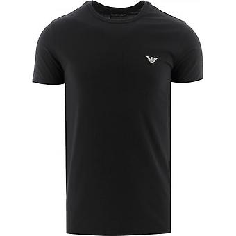 Emporio Armani Loungewear Black Short Sleeve Crew Neck T-Shirt