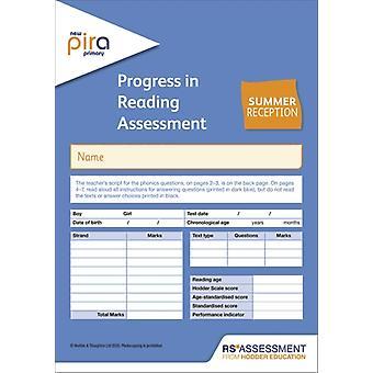 Colin McCartyKate Ruttlen uusi PiRA Test R Summer PK10 -edistyminen lukemisen arvioinnissa