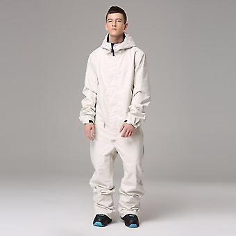 One-piece Ski Suit Men Skiing And Snowboarding Sportswear Jacket And Pants Set