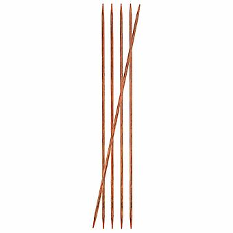 KnitPro Ginger: Knitting Pins: Double-Ended: 20cm x 3.75mm: Set of 5