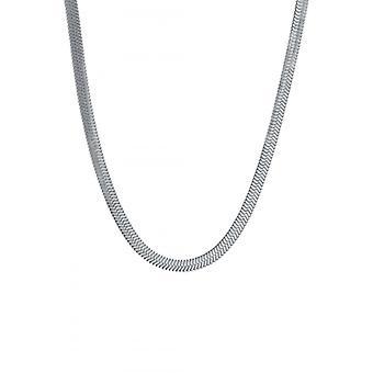 Clyda Kvinnors Smycken Halsband BCLCO0019S - Silver Steel