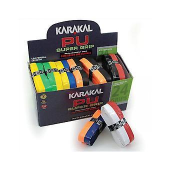 Karakal PU سوبر الثنائي غير زلة تاكي SRF استبدال مضرب قبضة - مربع من 24