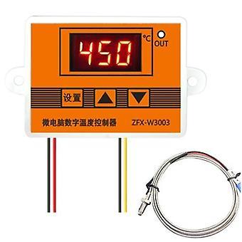 ZFX-W3003 Digitaalinen lämpötilansäädin Älykäs mikrotietokone Temp Control Termostaatti pakastinjääkaapin kuoriutumista