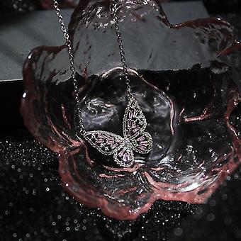 Cubic Zircon Cz Butterfly Rings, Jewelry Set, Needle Earrings