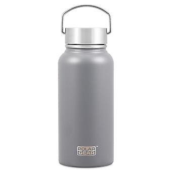 Polar Gear Hydra Surge Stainless Steel Bottle, Grey