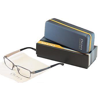 OGA Morel Eyeglasses Frame 74110 GB021 Gunmetal Plastic Metal France 53-17-140