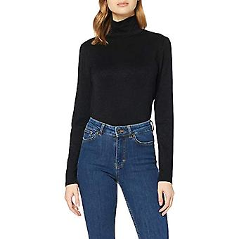 Herrlicher Tinker Jersey Glitter T-Shirt, Black 11, L Woman