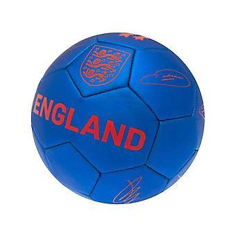 England Phantom Signature Ball Blue Size 5