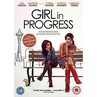Flicka pågår DVD
