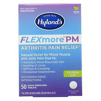 Hylands FlexMore Arthritis PM, 50 Tabs