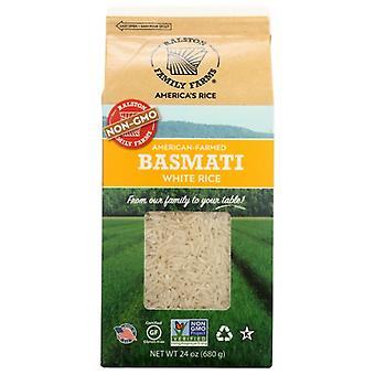 Ralston Family Farms Rice White Basmati, Case of 6 X 24 Oz