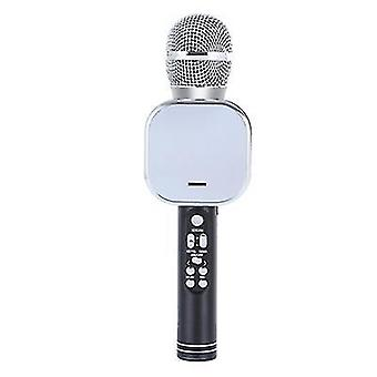 Black wireless microphone, intelligent noise reduction microphone and sound integrated surround sound microphone az12935