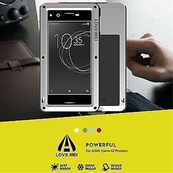 Love Mei Poderoso para a Sony Para Xperia Xz Premium Seis Parafusos Caixa de Telefone Fixo