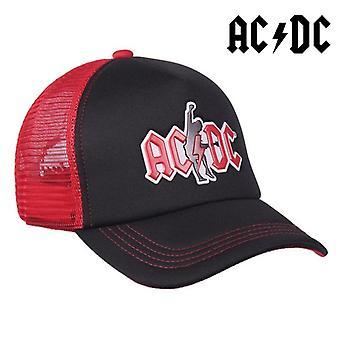 Unisex hattu ACDC Punainen Musta (58 cm)