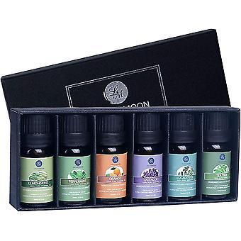 Ätherische Öle Set 100% Pure Aroma Öle,für therapeutische Aromatherapie/Diffuser/Lufterfrischer