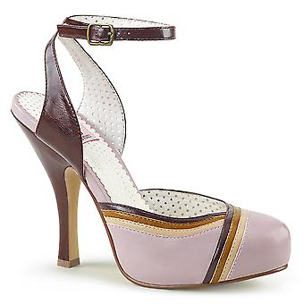 Pin Women's Shoes Up Lilac Multi Faux Leather