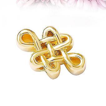 Chinese Knot Pendants (Golden) 5pcs