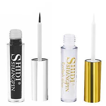 Shidishangpin 1 Pcs Eyelash Glue 5ml Lash Glue Clear Black Lashes Glues Mink