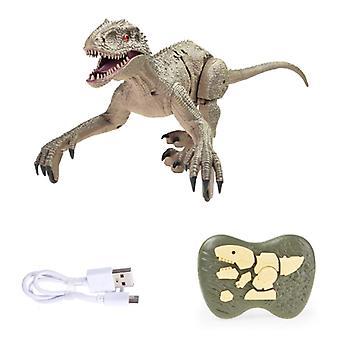 Hapybas RC Velociraptor ديناصور مع التحكم عن بعد - لعبة روبوت يمكن التحكم فيها