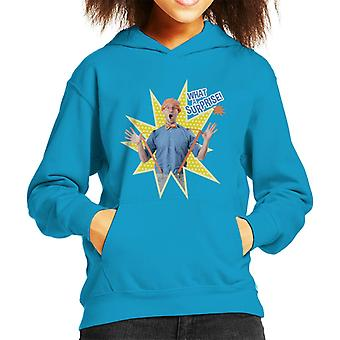 Blippi What A Surprise Kid's Hooded Sweatshirt