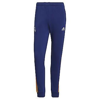 Real Madrid 2021-2022 3S svette bukser (blå)