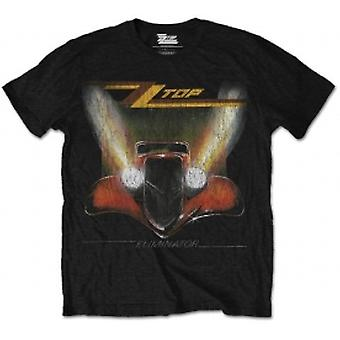 ZZ Top Eliminator Mens Black T Shirt: Large