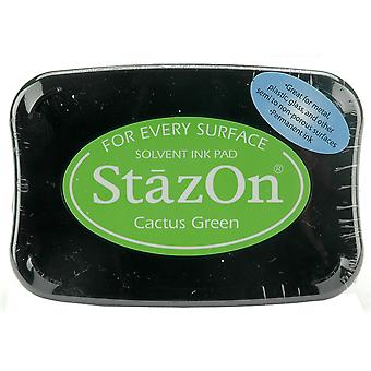 StazOn Solvent Ink Pad - Cactus Green