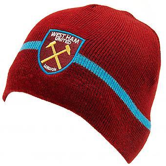 Sombrero de punto West Ham United F.C.