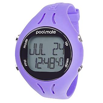 Swimovate Poolmate 2 Swimming Water Sports Lap Counter Tracker Watch Purple
