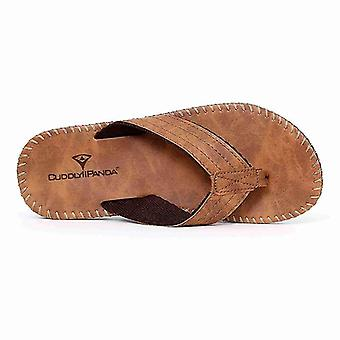Summer Beach Slippers British Style Men Male Sandals