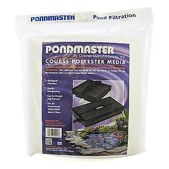 "Pondmaster Coarse Polyester Media - 12"" Long x 12"" Wide (1 Pack)"