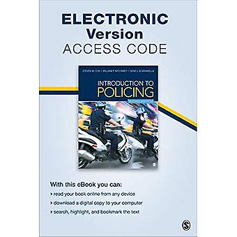 Introduction to Policing Electronic Version