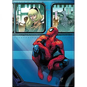 Marvel Comics Spider-Man und Gwen Magnet