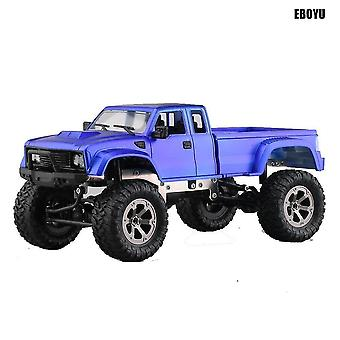 Toy cars 2.4Ghz 1/16 4wd off road rc truck with front led light brushed military rc truck rtr|one key