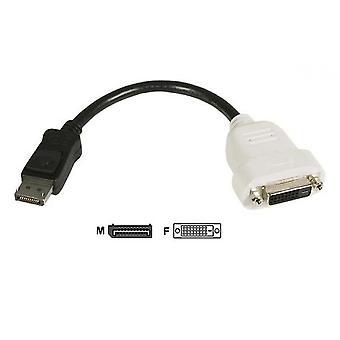 Cable adaptador dp a dvi estándar dp a dvi 24+1 Hd Cable adaptador