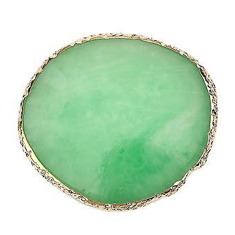Tace do przechowywania płyt żywicznych w stylu nordyckim (zielone)