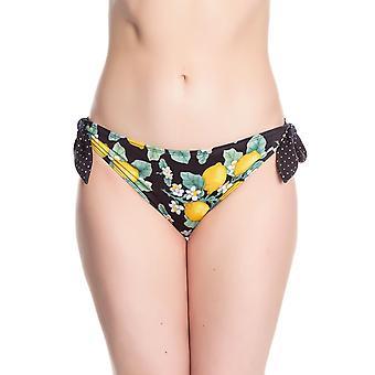 Hell Bunny Lemonade Bikini Bottoms XL