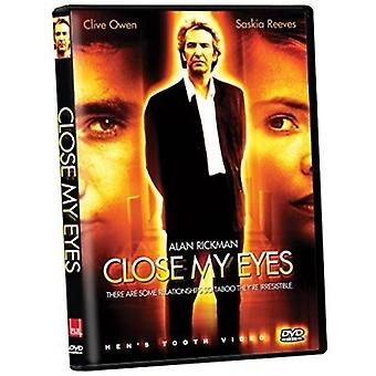 Close My Eyes [DVD] USA import