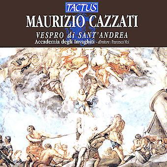 Cazzati / Accademia Degli Invaghiti / Moi - Vespers of Saint Andrew [CD] USA import