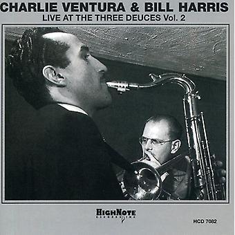 Ventura/Harris - Ventura/Harris: Vol. 2-Live at the Three Deuces [CD] USA import