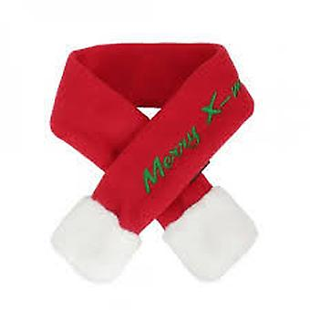 Puppia Santa's Scarf Red Scarf (Dogs , Dog Clothes , Fashion Accessories)
