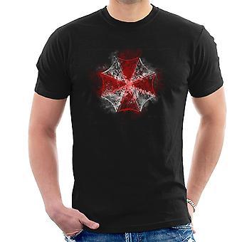Resident Evil Umbrella Corp Logo Rauchen Männer T-Shirt