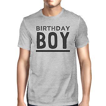 عيد ميلاد الصبي غراي رجالي مضحك الرسوم المحملة القميص لهدية التخرج